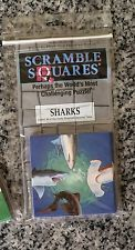 NEW Scramble Squares Puzzle SHARKS  Brain Teaser By B Dazzle NEW 1995