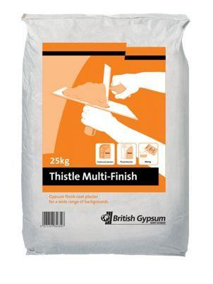 British Gypsum Thistle Multi Finish Plaster 25kg | Wickes.co.uk - £5.95  or 5@£5.35