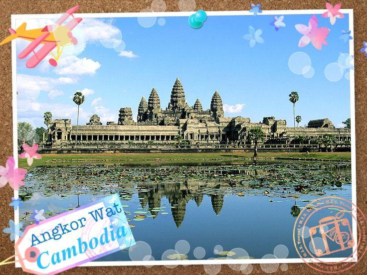 【H.I.S.】密林の大地に広がる壮大な寺院群 カンボジア王朝の象徴として建てられたヒンドゥー教最大の寺院、アンコールワット。特に遺跡から見る朝陽や夕陽の風景は必見です!