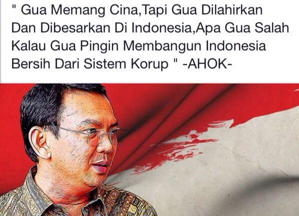 DKI Jakarta Governor, Basuki Tjahaja Purnama (Ahok).