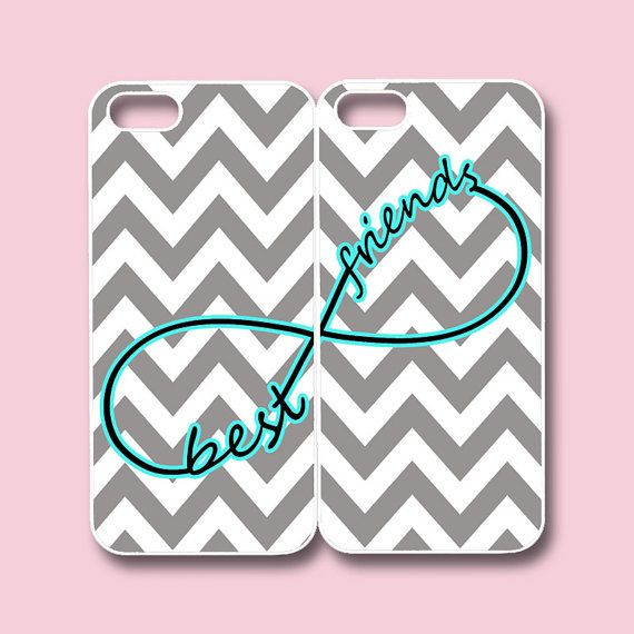 Best friends phone cases. i will get these when maya and have iphones...