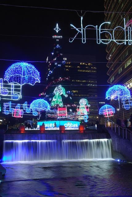Christmas in Seoul Korea