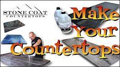 DIY folks love making Stone Coat Countertops proje…