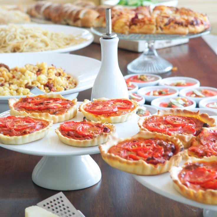 Italiaans buffet: 8 recepten met tijdsplanning - 4Pure by Andrea