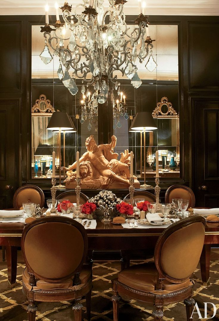 Fancy Dining Room In Traditional Designs Inspiration Luxury Paolo Moschino And Philip Vergeylen