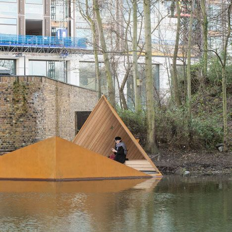 AOR's floating Viewpoint offers glimpses of London's canal-side wildlife