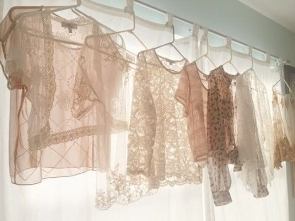 Clothes on Window