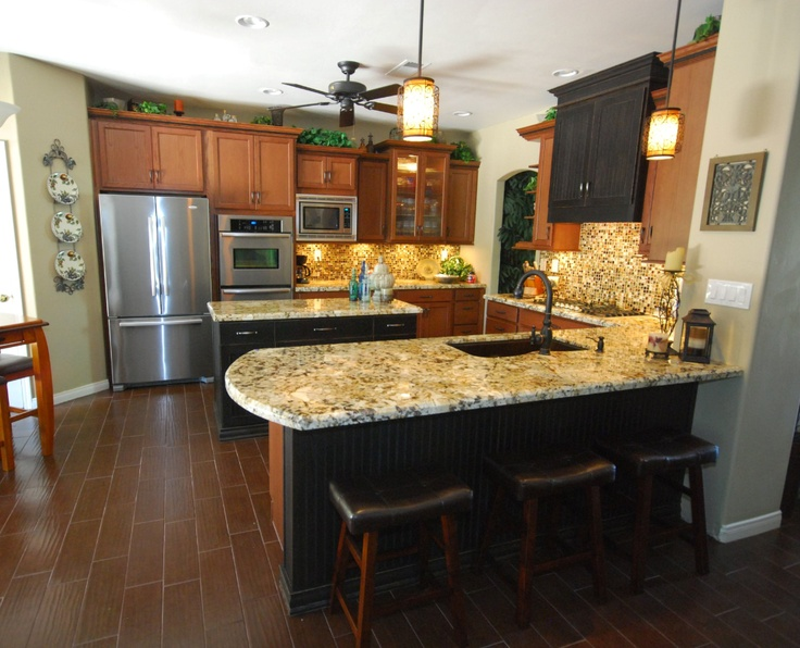 9 Best Floors That Go With Oak Cabinets Images On