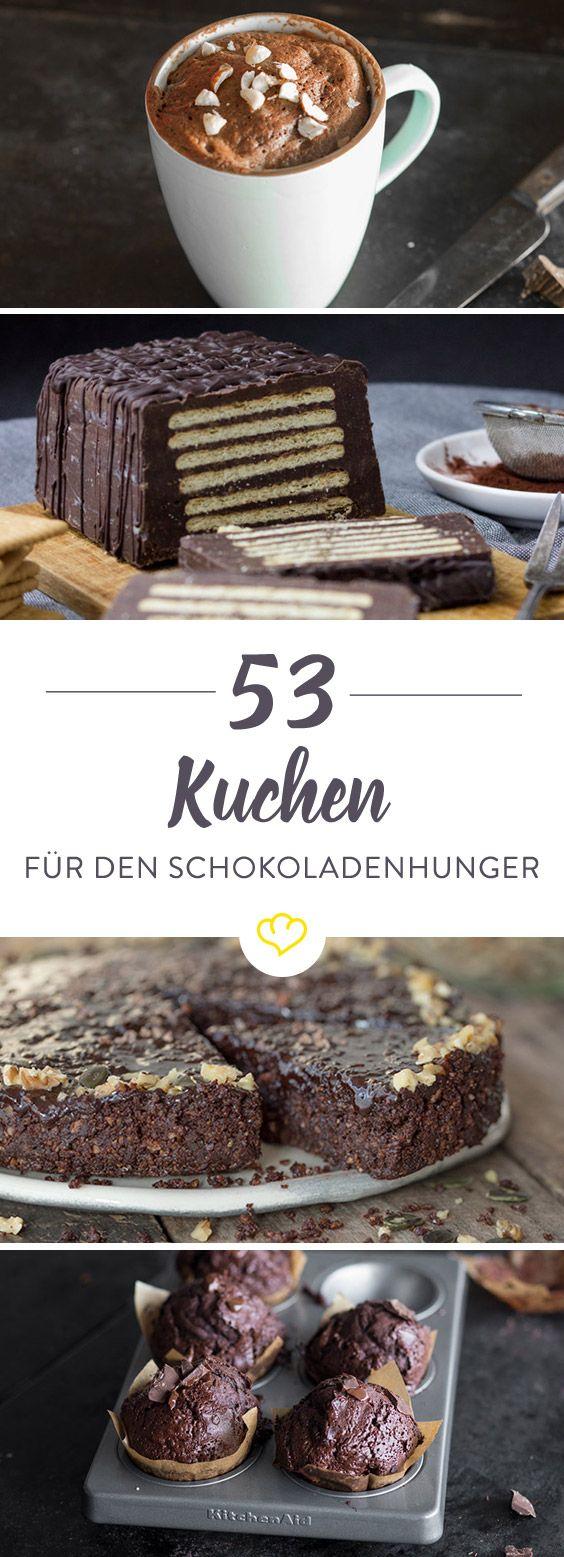 Das hier ist für alle Chocoholics. 30 Schokoladenkuchen, mit denen du genüsslich deiner Schokoladensucht fröhnen kannst. Jedes Rezept ein Schokotraum.