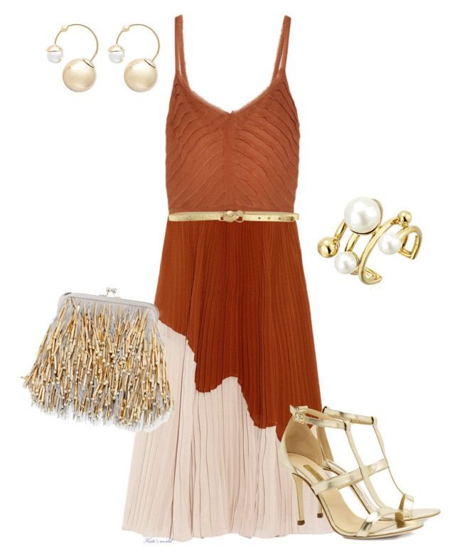 """""""dress2234"""" by k-meszaros on Polyvore featuring Jason Wu, Just Cavalli, Dee Keller, Neiman Marcus, Witchery and Kate Spade"""