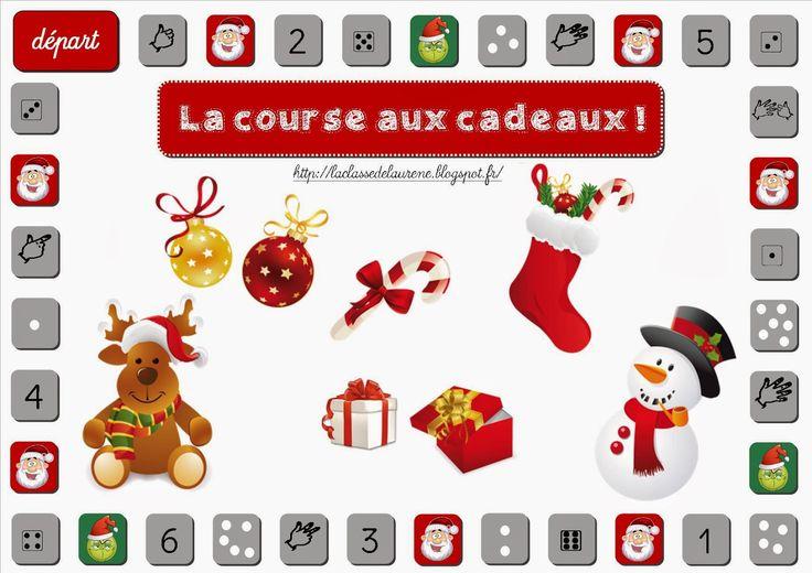 La maternelle de Laurène: La course aux cadeaux jeu à imprimer