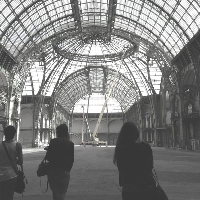Repérage Fiac Grand Palais