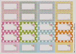 Resultado de imagem para modelos de etiquetas florais para  temperos  em branco