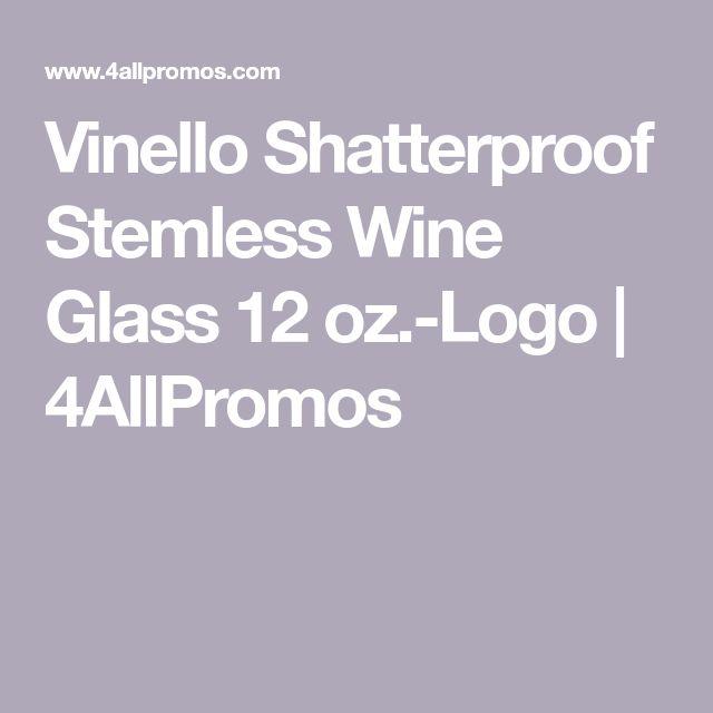 Vinello Shatterproof Plastic Stemless Wine Glass 12 Oz Stemless