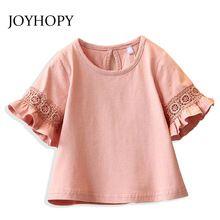 Princesa Rendas Crianças meninas T shirt crianças camisas de t para menina top roupas roupas Meia manga Primavera Verão(China (Mainland))