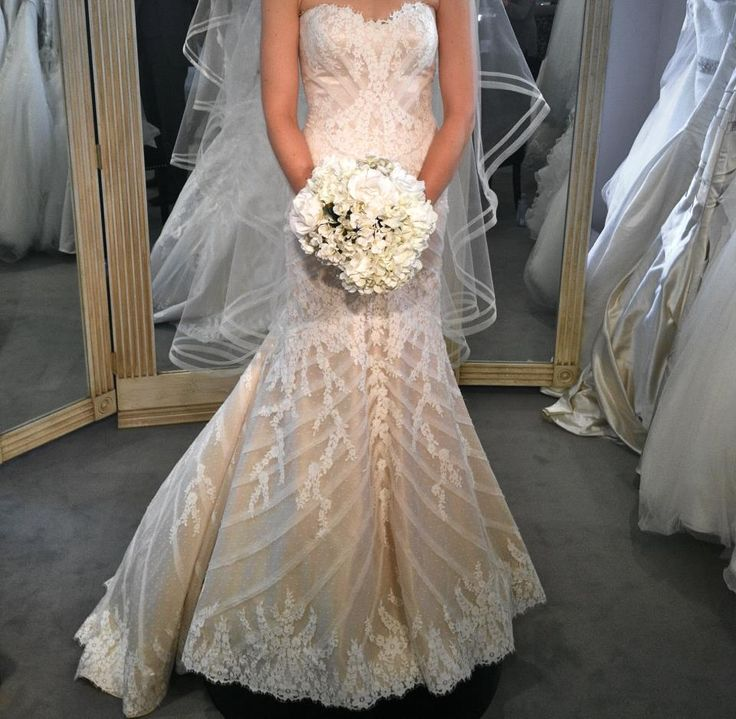 Matthew Christopher New Sofia Charmeuse Wedding Dress