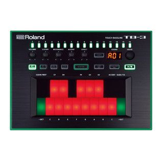 Roland Aira TB-3 Touch Bassline ~ recreation of the Roland TB-303 ~ new kind of faked analog: circuitry emulation allows more predictability for people with an understandig of electronic phenomenons used as foundation of sound synthesis since so many years
