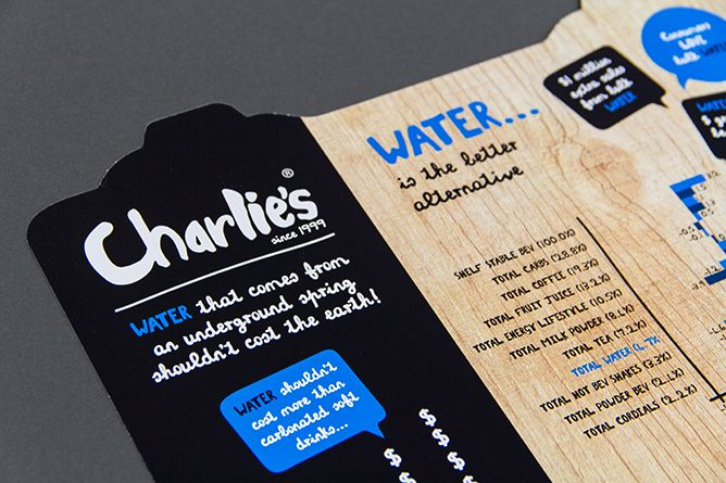 Launch of Charlie's Water, Trade Presenter designed and produced by CCL Communications Group for The Better Drinks Co. Ltd. Visit us at cclgroup.co.nz for all your design and production requirements.