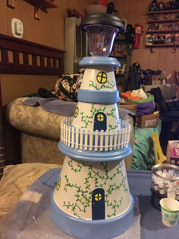 Lighthouse I made for my sister