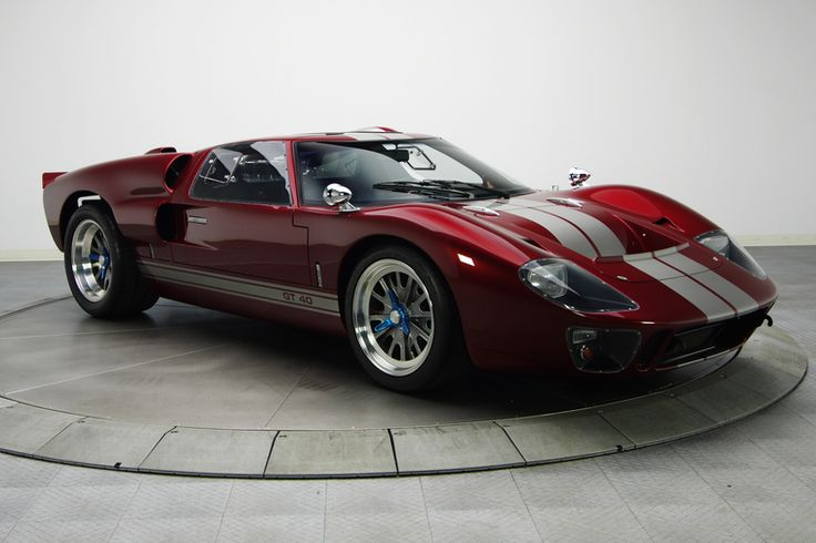 1966 GT40 MKII  to bad ford didn't mass produce them like Chevy does with th…