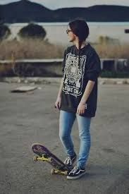 Image result for skater girl outfits tumblr