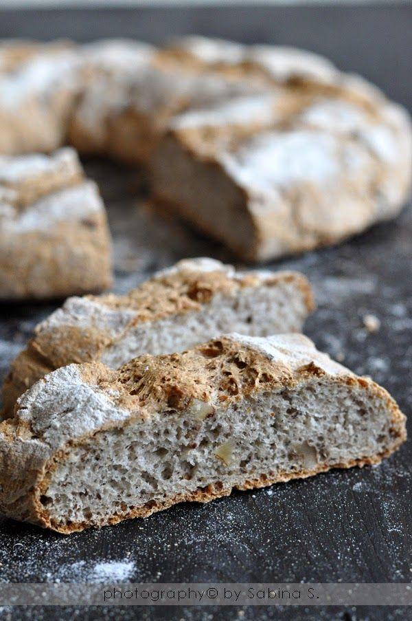 Due bionde in cucina: Pane al grano saraceno e noci
