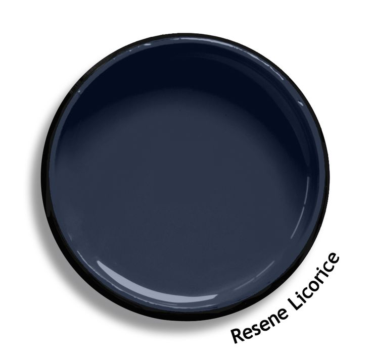 Resene Licorice is an elegant grey blue. Use with all whites or neutrals, or as an element in a bolder scheme. From the Resene Multifinish colour collection. Try a Resene testpot or view a physical sample at your Resene ColorShop or Reseller before making your final colour choice. www.resene.co.nz