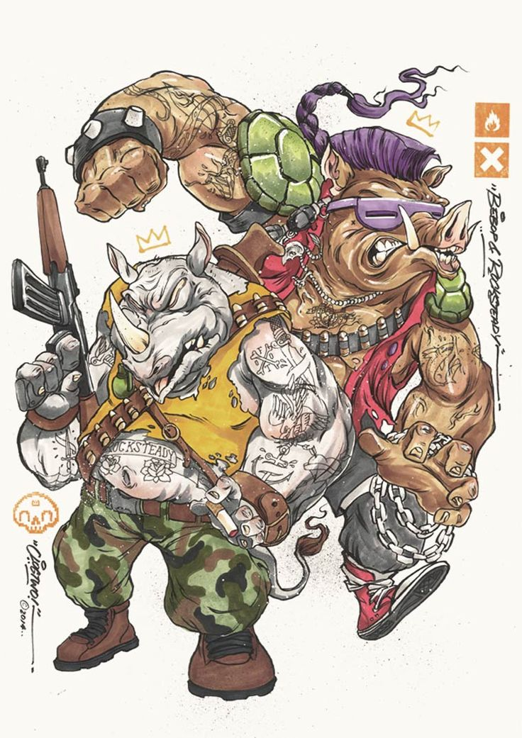 les tortues ninja vues par clogtwo - Tortues Ninja Tortues Ninja