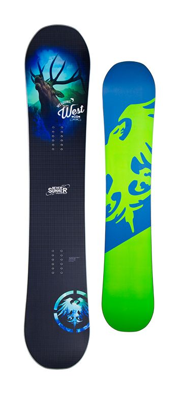 Never Summer West Snowboard - Men's Snowboards - Men's Snowboarding - Colorado Snowboarding - Winter 2015/2016 - Christy Sports