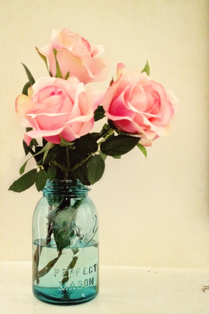love pink roses!