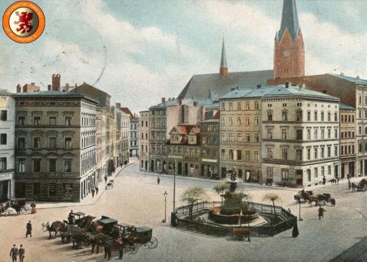 Stettin Roßmarkt um 1900