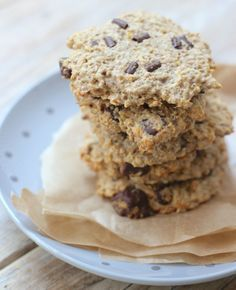 Gezonde chocolate chip cookies | Flairathome.nl #FlairNL @Lekker en Simpel