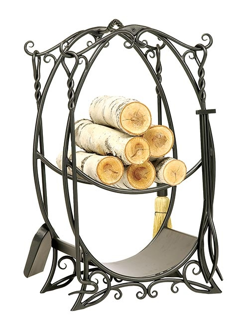 our ornate cottage wood holder is gorgeous and makes a strong statements the decorative scrolls