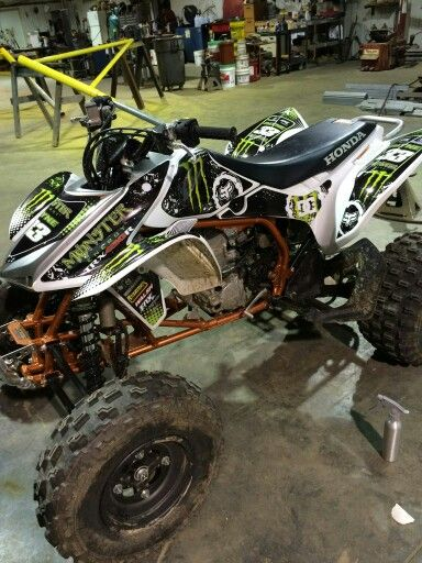 Honda TRX 450 Atv Graphics Kit Kits By Fireblade And Signs Like Us On Facebook To See All Our Purchase Them From Faceboo