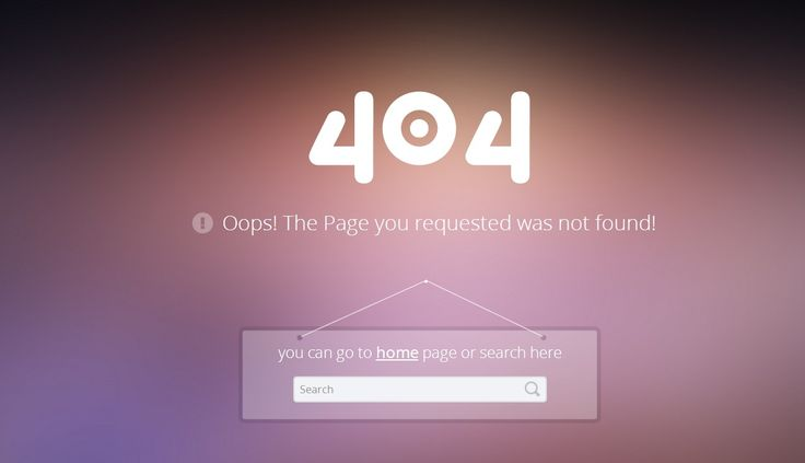 18 Free CSS/HTML 404 Error Pages 2014