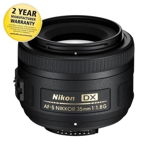 Nikon-DX-AF-S-35mm-F-1-8G-Lens-132DA-with-AUST-NIKON-WARRANTY