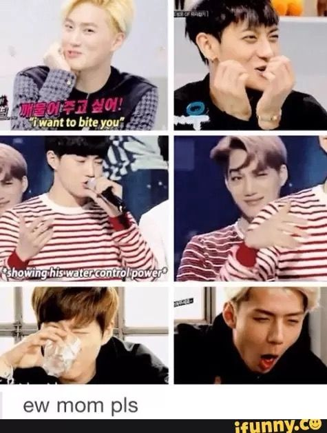 exo maknaes are not amused by mom suho