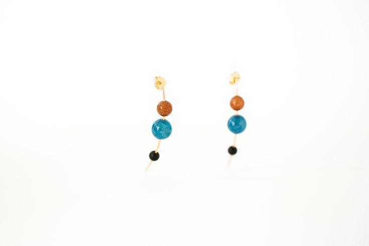 Apatite Orion Earrings