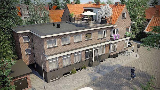 Wonen in de dansschool http://deorkaan.nl/dansschool-diederich-hoorn-wordt-appartementencomplex/
