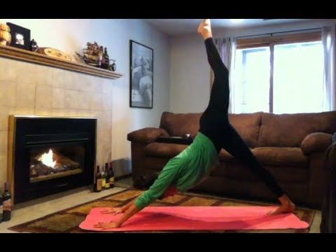 Yoga For Flexibility (12 minutes)     great for #beginners! This #yoga sequence will help increase your #flexibility. Practice 3-5x/week for best results!