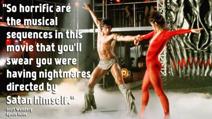 Rotten Tomatoes Rating: 0%All You Need To Know: Now imagine a sequel to Saturday Night Fever that's directed by Sylvester Stallone and completely misses the point of the original. Quite literally, that is Staying Alive.Submitted by zazzlez