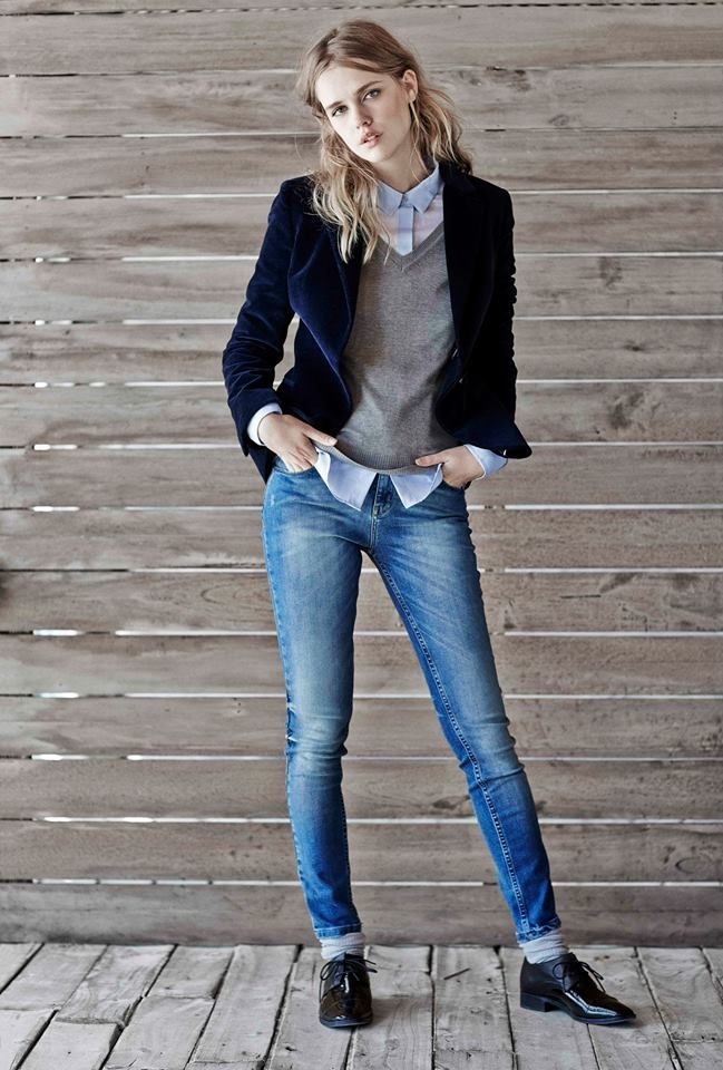 what to wear with velvet jeans 50+ best outfits #fashion #outfit #jeans