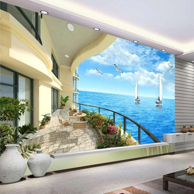 Wall Murals Cheap best 25+ beach wall murals ideas on pinterest | beach mural