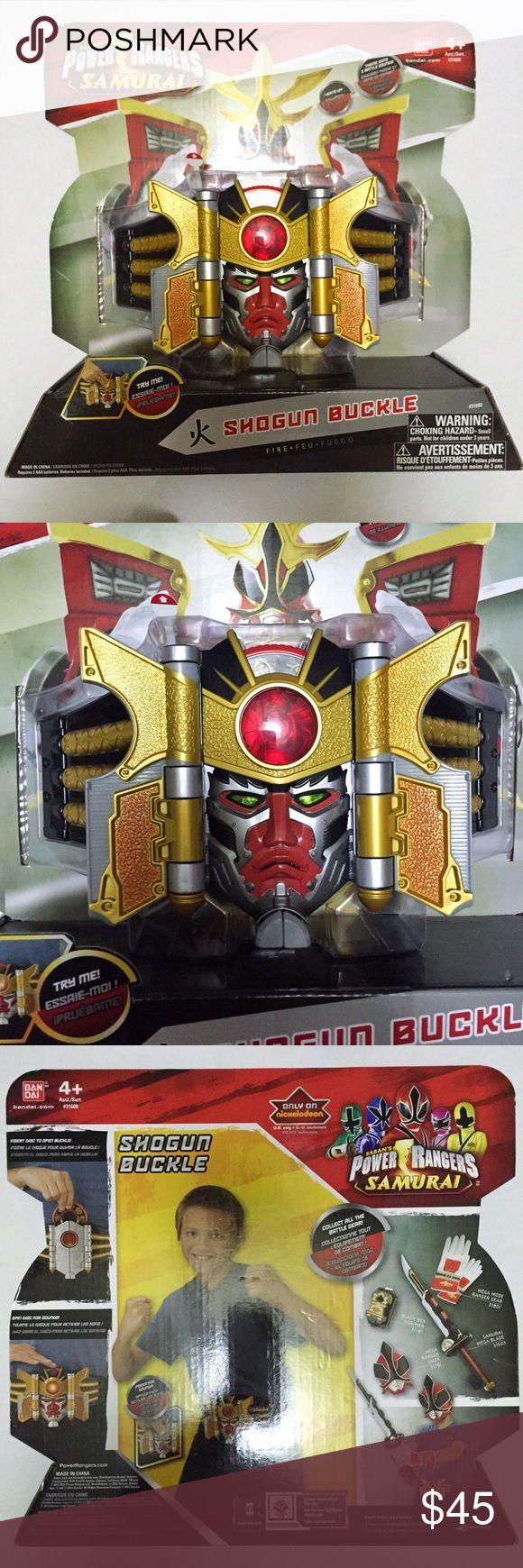 Selling this Power Rangers Samurai Shogun Buckle on Poshmark! My username is: refineselection. #shopmycloset #poshmark #fashion #shopping #style #forsale #Bandai #Other
