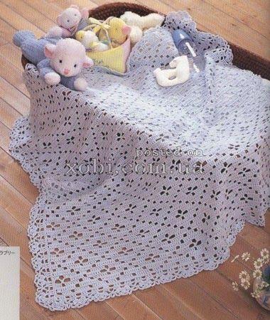 copertina per cesta | Hobby lavori femminili - ricamo - uncinetto - maglia