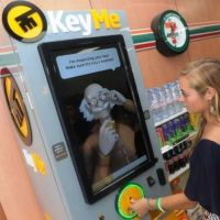 KeyMe stores a copy of your house key in the cloud, this way you can print a new one at a kiosk if you would ever lose the original one