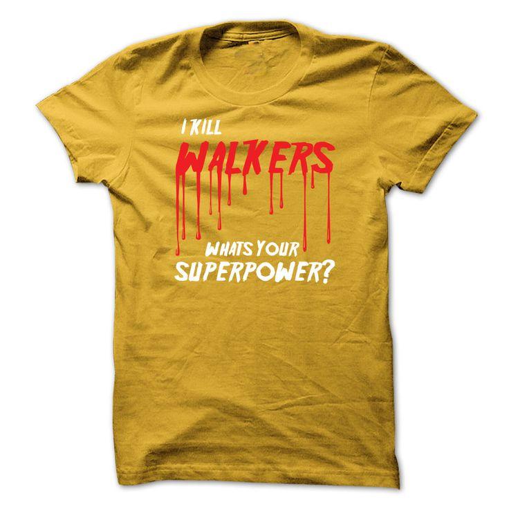 I kill walkers T-Shirts, Hoodies. VIEW DETAIL ==► https://www.sunfrog.com/TV-Shows/I-kill-walkers.html?id=41382