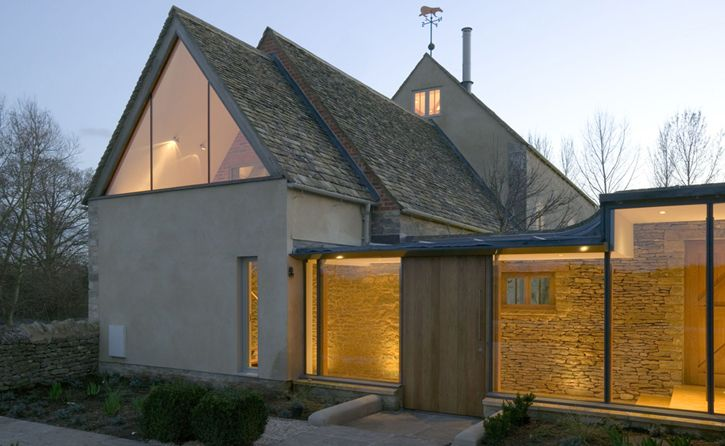 Sympathetic renovation and partial rebuilding of Beard Mill - a Grade II listed water mill in Stanton Harcourt, Oxfordshire by Berman Guedes Stretton Architects