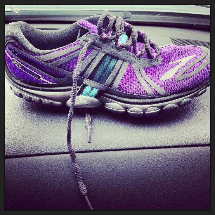 New running shoes. Brooks. Thank you Justin!