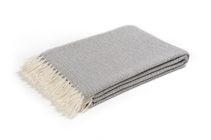 Buy ST. MORITZ GREY #CASHMERE THROW online. Amancara, #luxury linens since 1952.